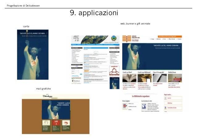 """Progettazione di Delicatessen 9. applicazioni carta web, bunner e gift animate mail grafiche """"MONTE LUCIO, ANNO DOMINI…"""" M..."""