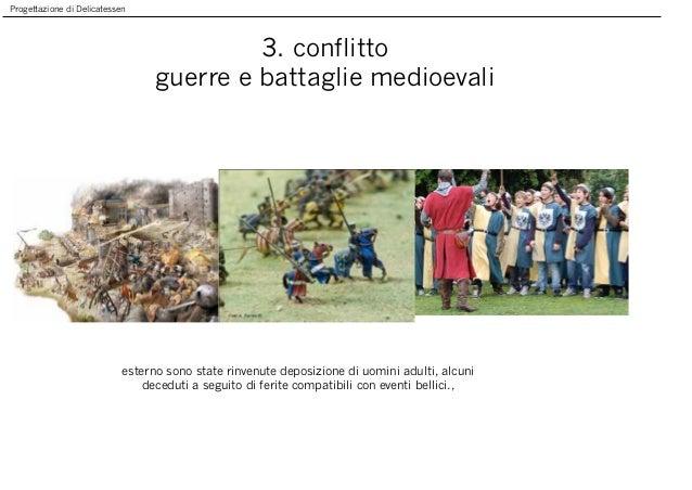 Progettazione di Delicatessen 3. conflitto guerre e battaglie medioevali esterno sono state rinvenute deposizione di uomin...