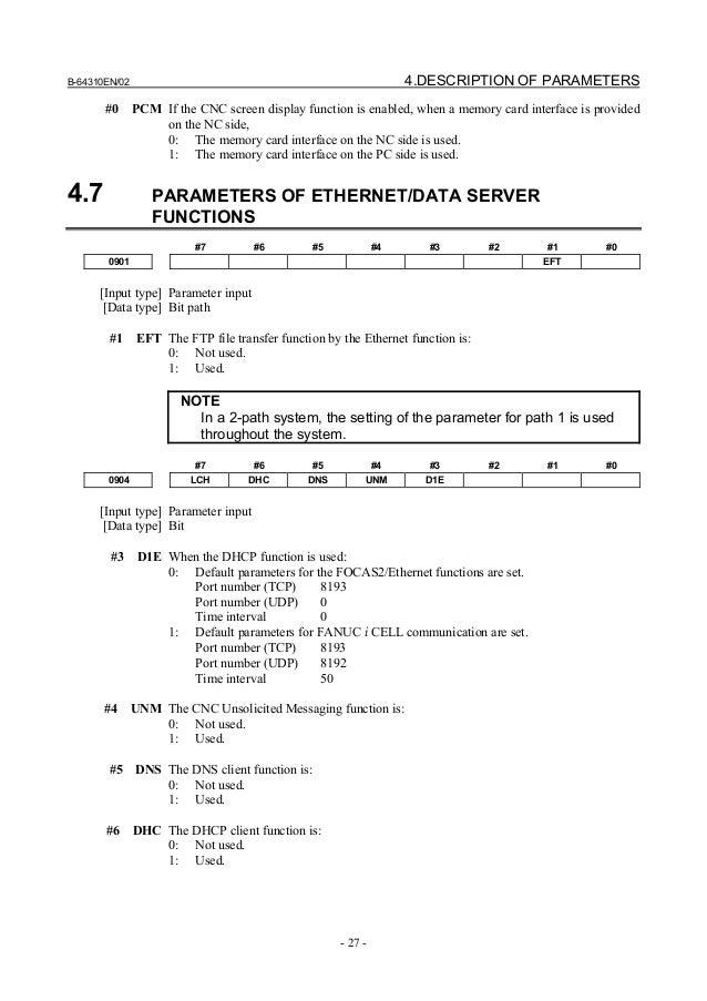 fanuc 0i parameter manual cnc milling machine rh slideshare net fanuc parameter manual b-65280en fanuc parameter manual b-65280en