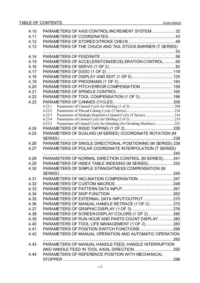 fanuc 0i parameter manual cnc milling machine rh slideshare net fanuc oi td operator manual pdf fanuc oi td manual pdf