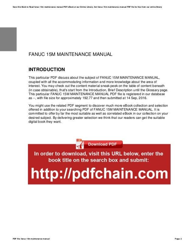 Fanuc ot maintenance cnc manual ebook array fanuc 15m manual product user guide instruction u2022 rh testdpc co fandeluxe Gallery