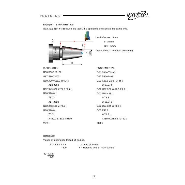 fanuc ot cnc training manual rh slideshare net Fanuc OT Parameters fanuc ot user manual