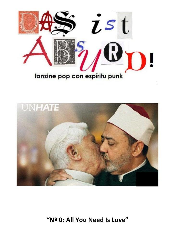 "n""Nº 0: All You Need Is Love"""