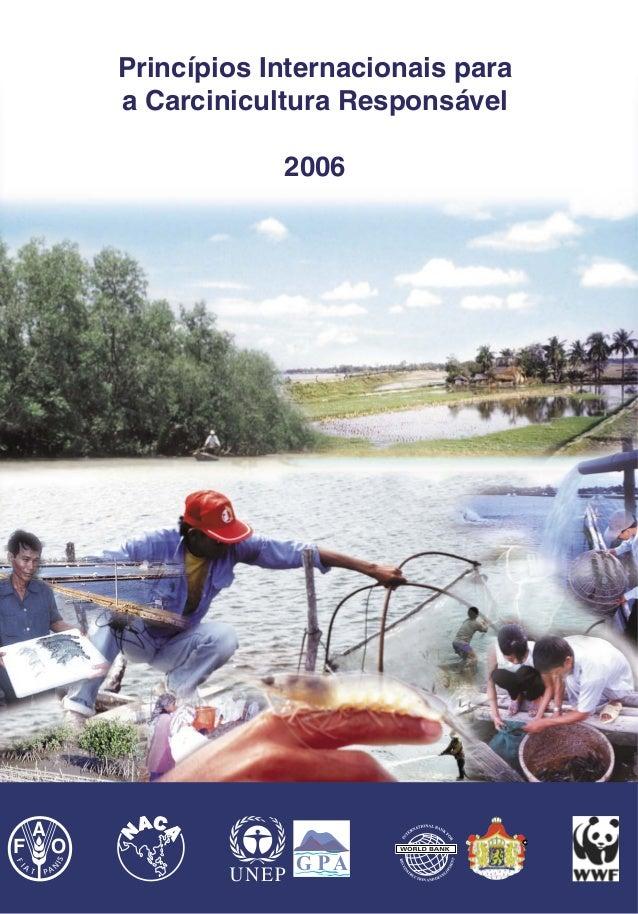 Food and Agriculture Organization       of the United nations                         Princípios Internacionais para      ...