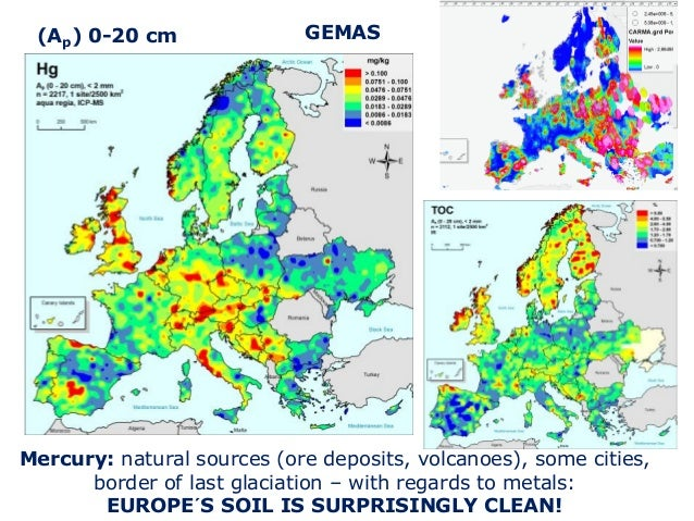 GEMAS: Geochemical mapping of agricultural and grazing land ... on
