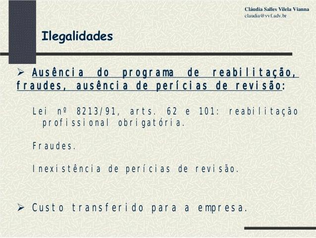 Artigos 71 77 e 78 do decreto 3048