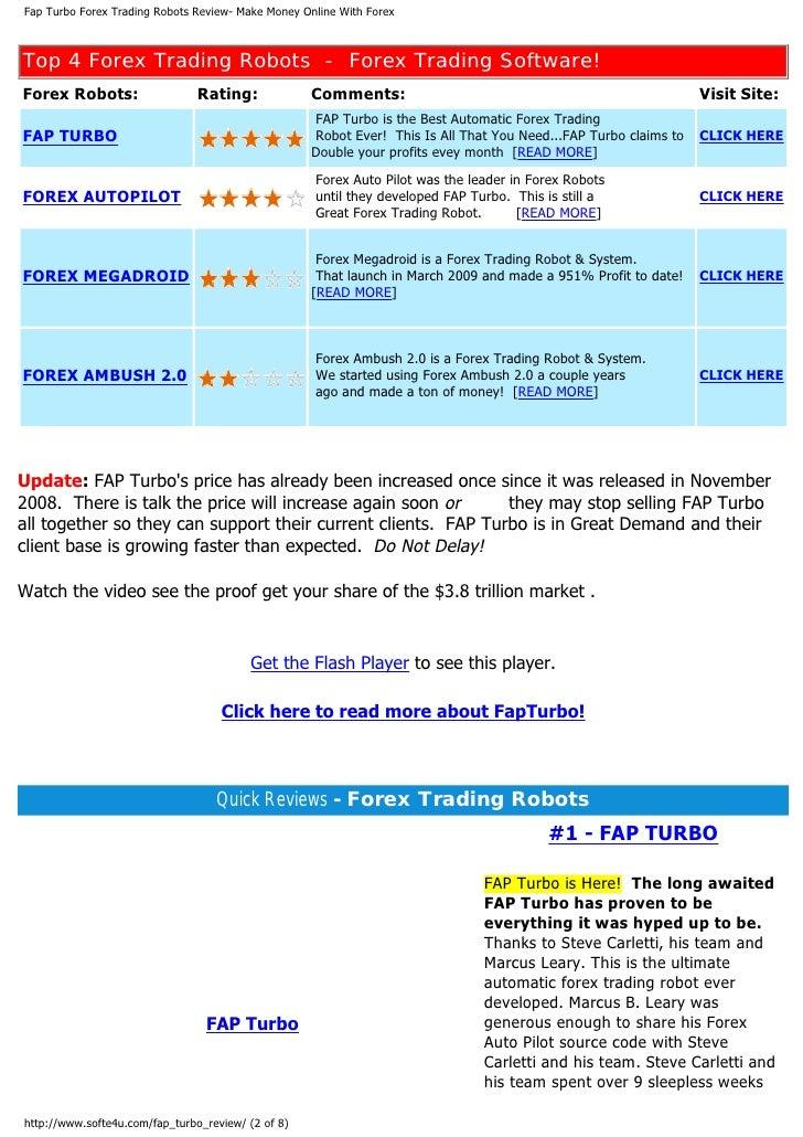 Forex autopilot system f.a.p.s форекс записки частного трейдера