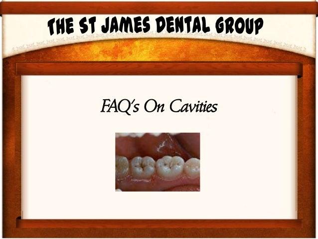 FAQ's On Cavities
