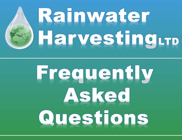 What is Rainwater Harvesting? Rainwater Harvesting is the collection and storage of rainwater that would otherwise flow do...