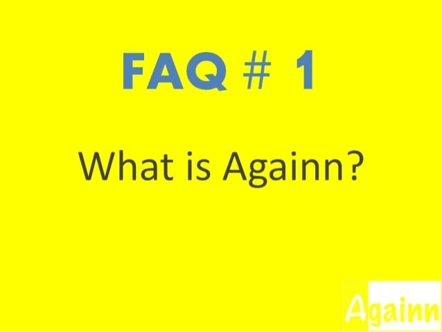 "Answer:Againn is an online card-free common loyalty service with thecatchword ""No Conditions Apply"". We let you score poin..."
