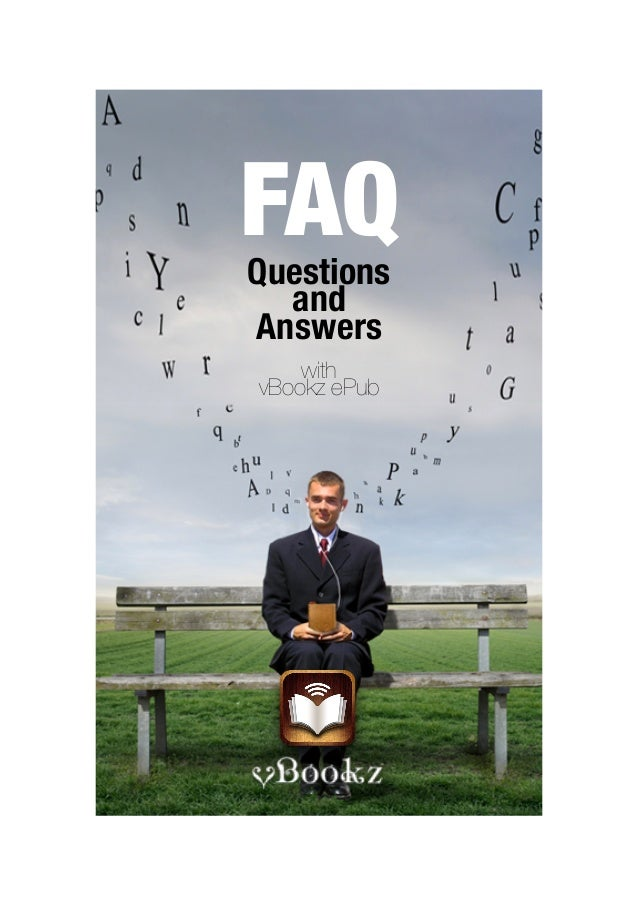 FAQQuestions  andAnswers    withvBookz ePub