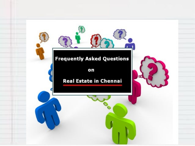What are the Main Market segments of Real Estate in Chennai?