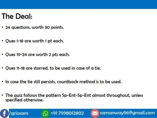FAQ SpEnt Quiz 2018 Slide 3