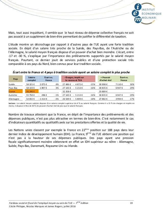 Mais, tout aussi inquiétant, il semble que le haut niveau de dépense collec ve français ne soit pas associé à un supplémen...