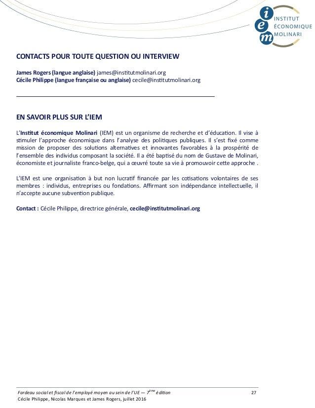 CONTACTSPOURTOUTEQUESTIONOUINTERVIEW  JamesRogers(langueanglaise)james@ins tutmolinari.org CécilePhilippe(la...