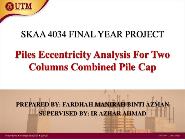 Pile Eccentricity Analysis for 2 Columns Combined Pilecap