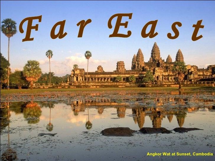 Angkor Wat at Sunset, Cambodia