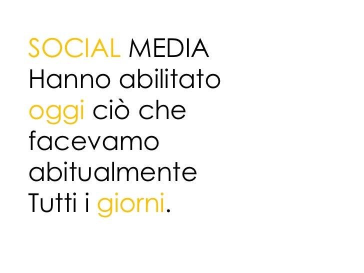 Fare turismo online social media   Slide 3