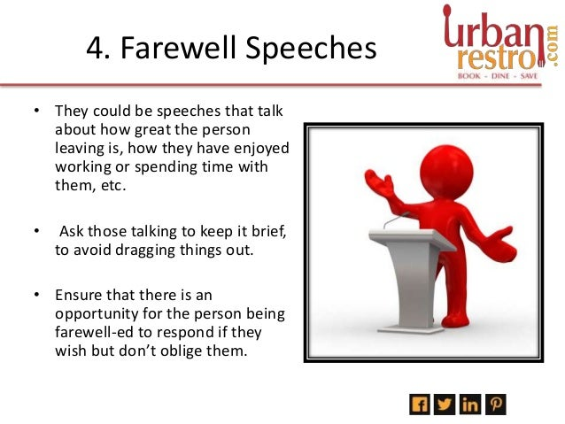 farewell speech for 12th std Best tips on school/college farewell speech with a sample was handed the responsibility of addressing everyone on behalf of final year students of 12th.