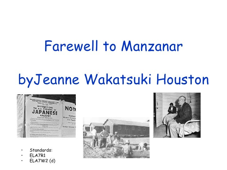 farewell to manzana Manzanar (which means apple orchard in spanish) was identified by the united states national park service as the best-preserved of the former camp sites, and is now the manzanar national historic site, which preserves and interprets the legacy of japanese american incarceration in the united states.