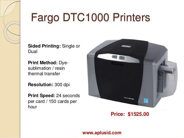 Fargo DTC Drivers Download for Windows 10 7 8/ Vista (64/32 bits)
