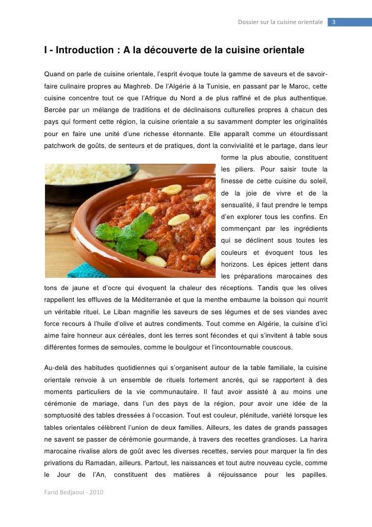 Farid Bedjaoui et la cuisine orientale Slide 3