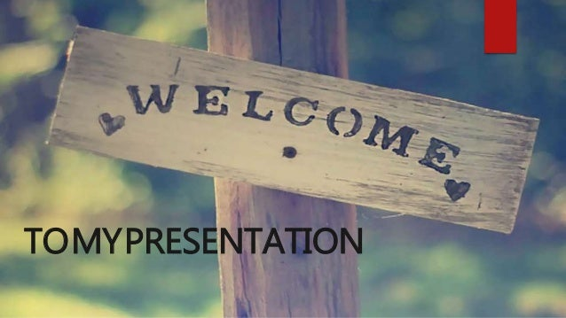 TOMYPRESENTATION