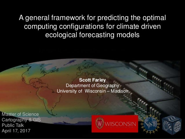 A general framework for predicting the optimal computing configurations for climate driven ecological forecasting models S...
