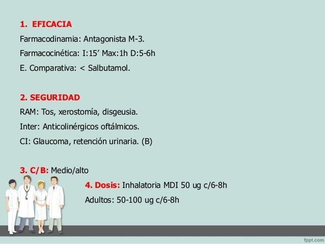 Fármacos - Neumonia - Asma