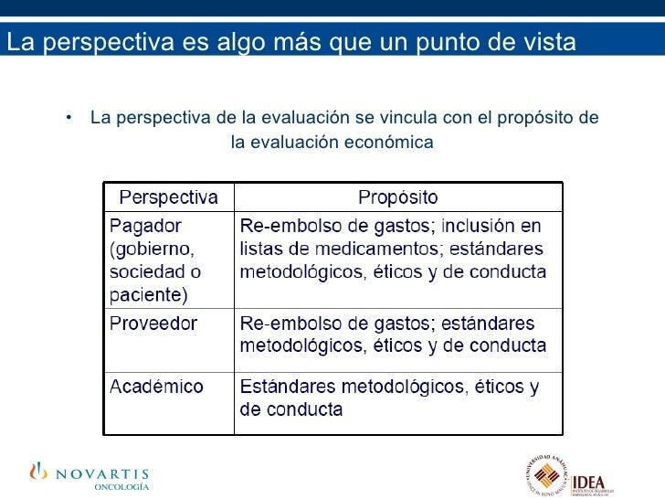La perspectiva es algo más que un punto de vista <ul><li>La perspectiva de la evaluación se vincula con el propósito de </...