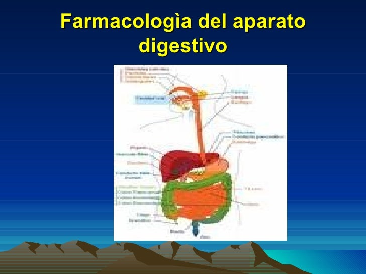 Farmacologìa del aparato       digestivo