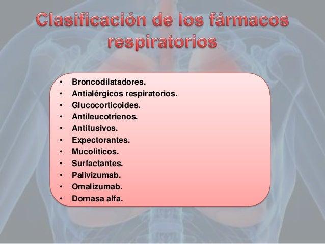 Farmacología del aparato respiratorio Slide 2