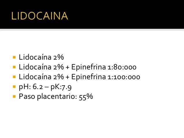 ARTICAINA • Metaboliza  en el plasma • Europa y Canadá 20 años • 2000 en USA: Articaina 4% con epinefrina 1:100.000 • Vida...