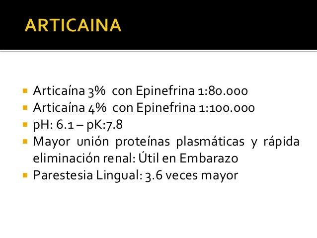   Maxilar superior: ▪ Deseable infiltración INFILTRACION (PULPAR) Minutos  Articaina 4% Epinefrina 1:100.000  60-75  Lido...