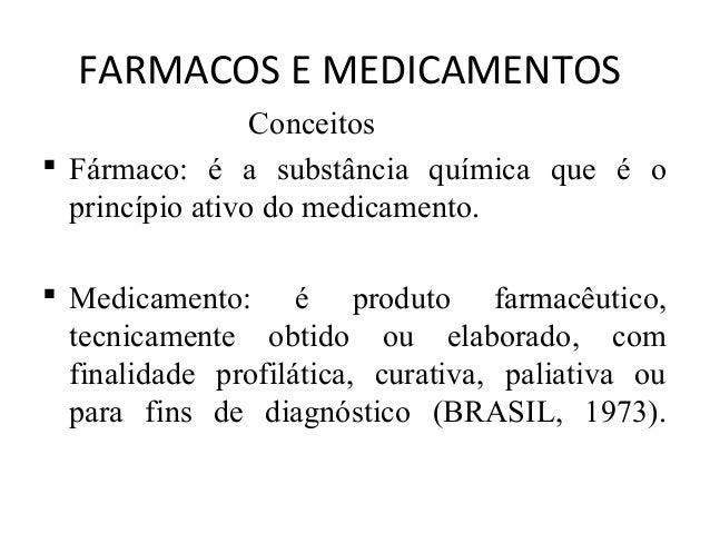 ORIGEM DO MEDICAMENTOS