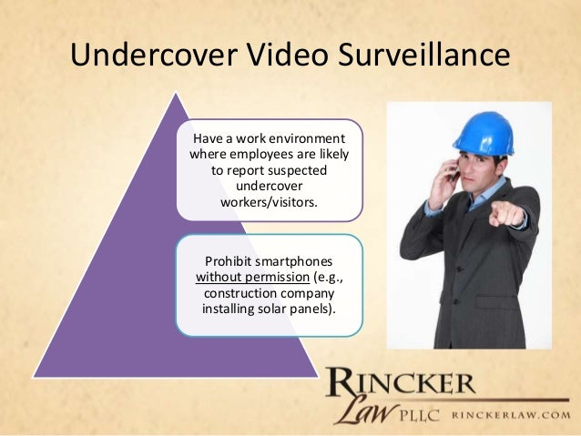 video surveillance and the employment relationship