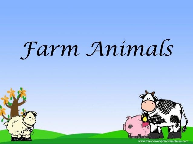 Farm Animals Powerpoint