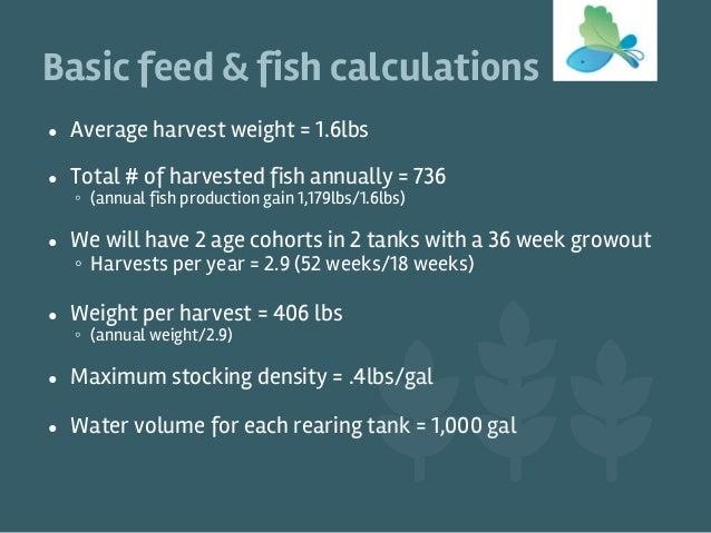 Dwc farm design workshop for Fish tank size calculator