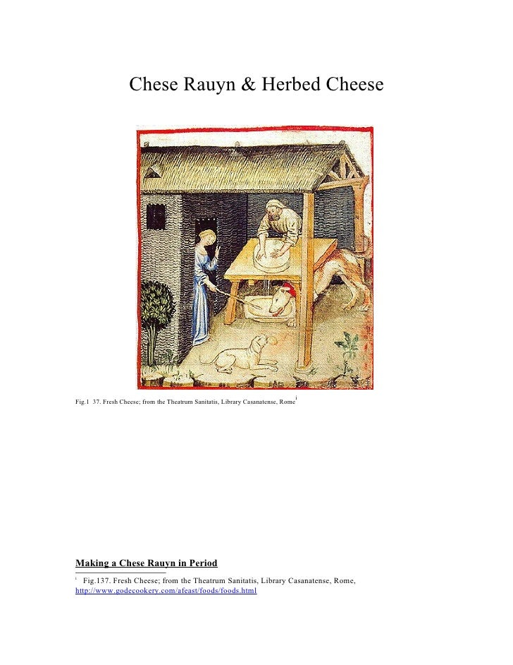 Chese Rauyn & Herbed Cheese                                                                                 iFig.1 37. Fre...