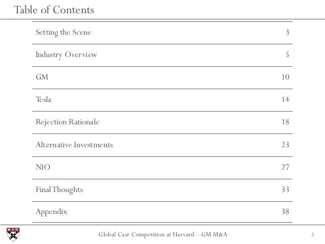 Harvard Global Case Competition - Miami University Slide 2