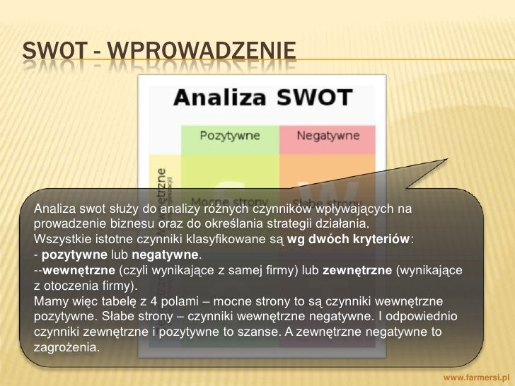 swot poland Directions for the development of instant payments systems in poland, including   effect, the aforementioned role of the central bank and results of the swot.