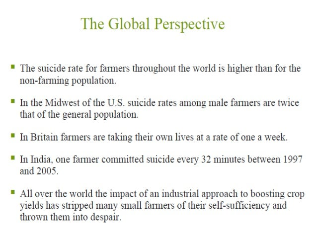 farmer suicide and agrarian distress The more important issue of agrarian distress in the agrarian crisis and of farmer distress and suicides in india and farmer suicide data.