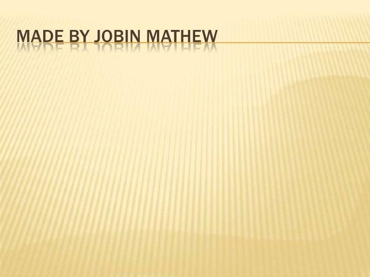 Made by Jobinmathew<br />