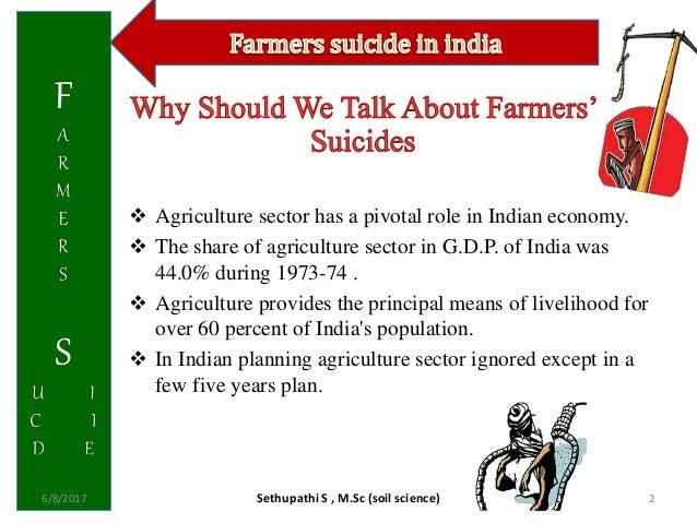 Farmer suicide in india Slide 2