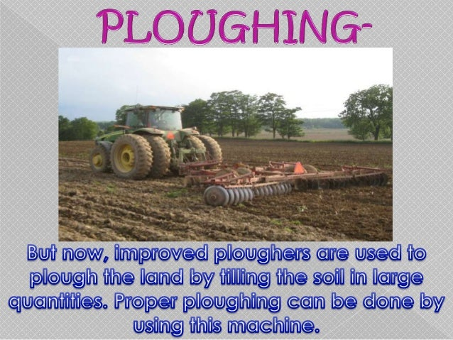 agricultural methods of farming