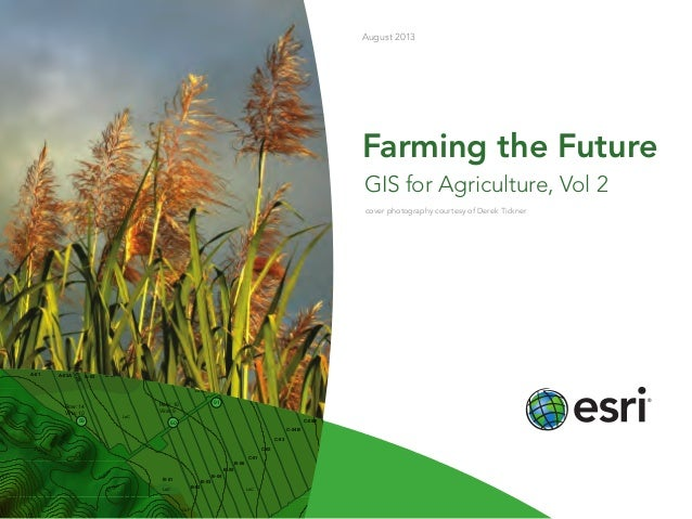 farming the future gis for agriculture vol 2
