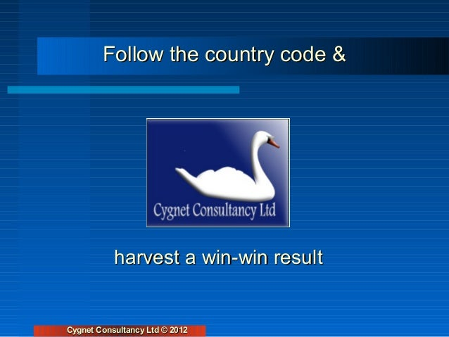 Follow the country code &                                                                                 harvest a win-wi...