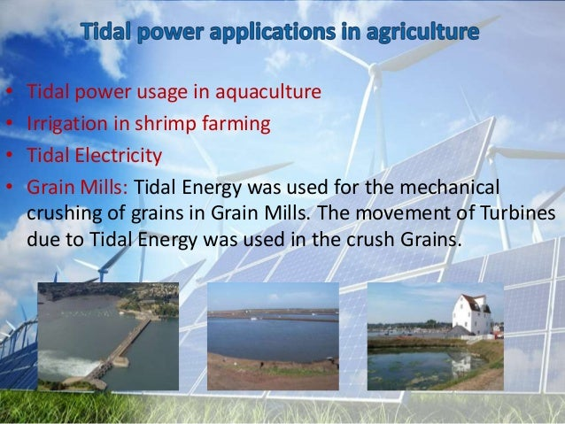 Sustainable Energy Applications In Agriculture