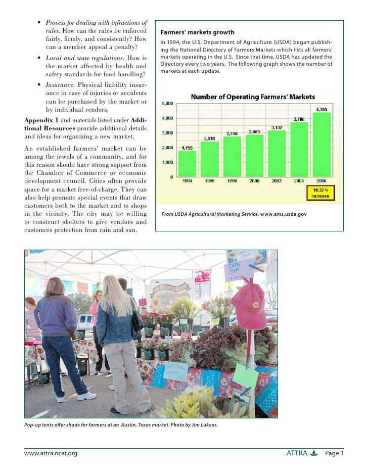 Food Safety Regulations For Farmers Markets