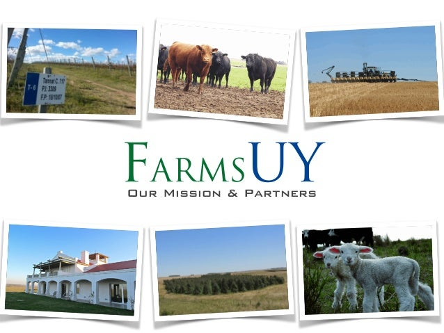 FarmsUYOur Mission & Partners